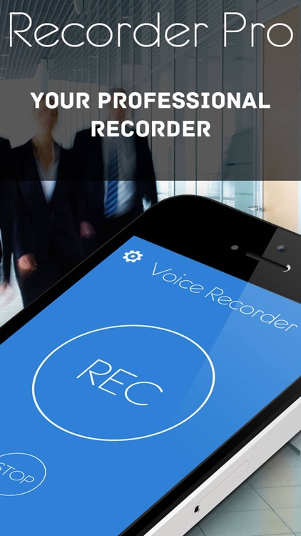 Voice Recorder Pro - record memos and notes screenshot-1