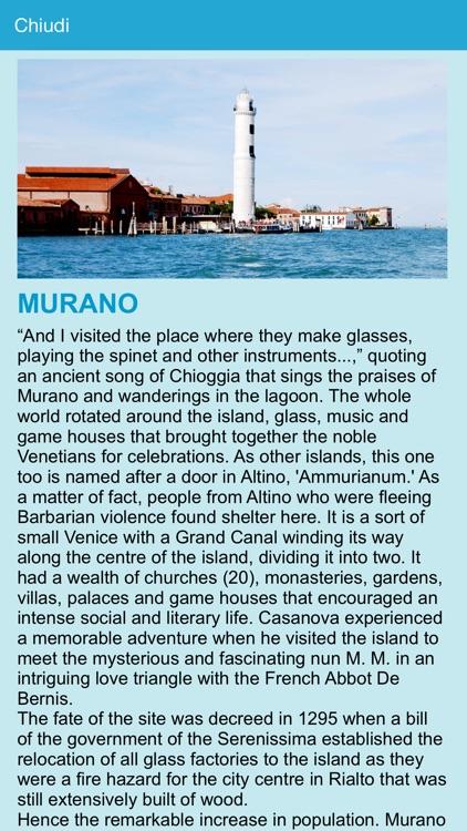 Venice lagoon chart Lite screenshot-3