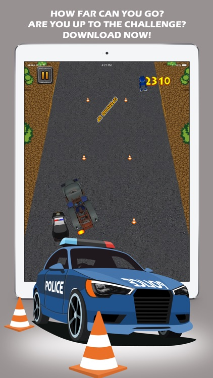 Speed Police Car Chase: Traffic Racing Rivals