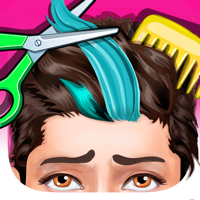 Pixel Girl Labs - Messy Hair Salon - Girls Games for One Direction artwork