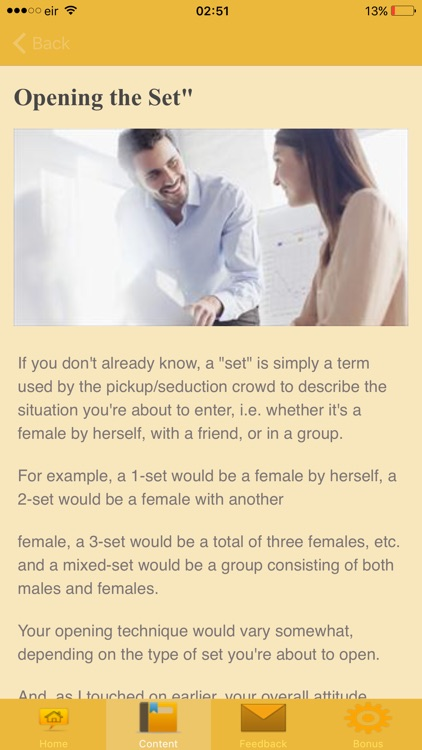 Learn to Talk to Women - Techniques screenshot-4