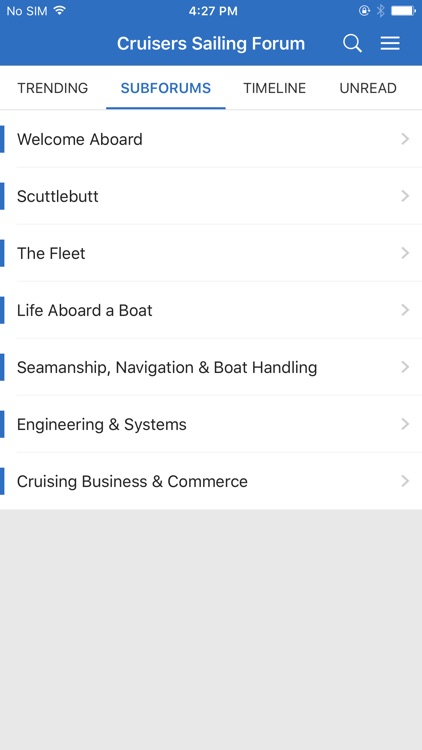 Sailing & Boating Community
