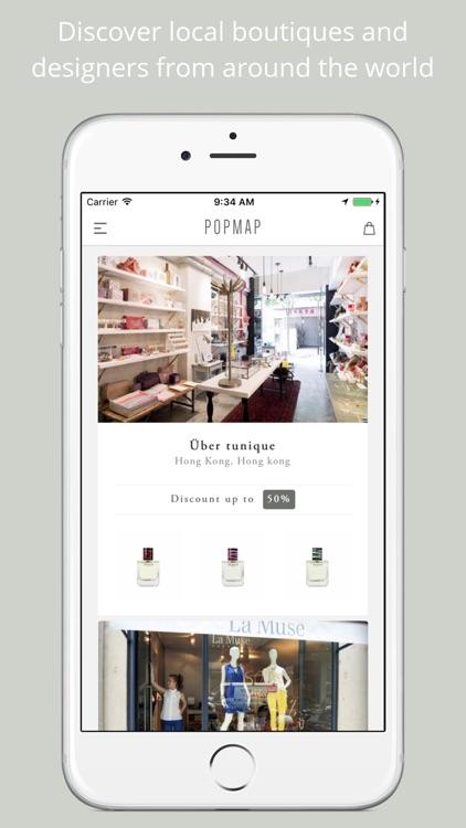 Popmap - Shop the world like a local