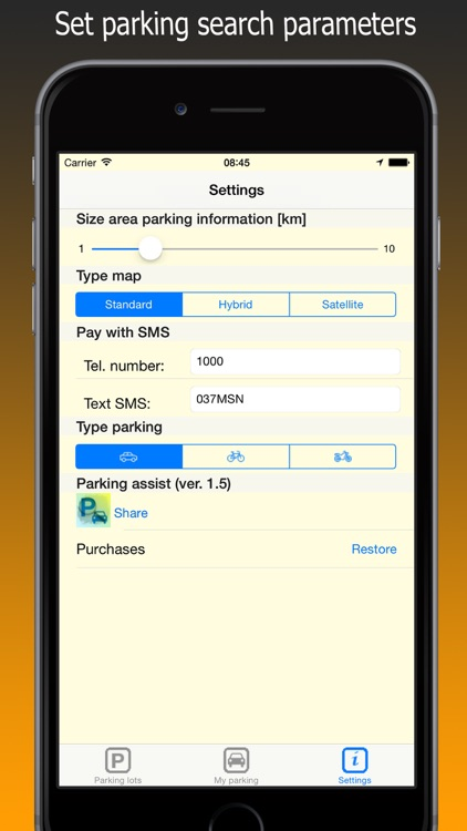 Park Assistance - find parking for your car, bike screenshot-4