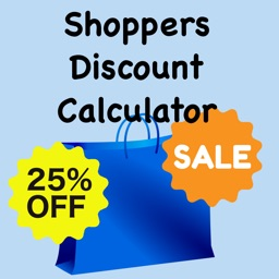 Shoppers Percentage Discount Calculator