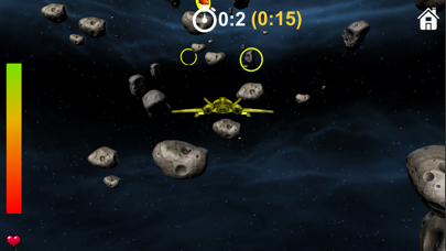 Fly in space screenshot two