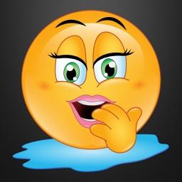 Flirty Emojis 3 - It Tastes So Good! Stickers