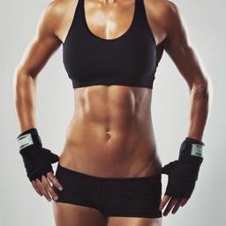 马甲线教程-女士减肥瘦身减脂