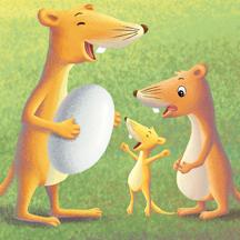 三只黄鼠狼-kimikids奇米双语互动绘本