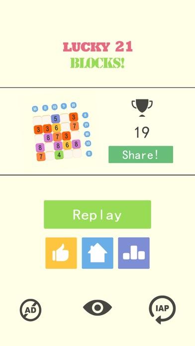 Screenshot 5 Lucky 21 Blocks !-crush games