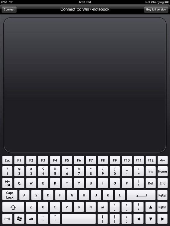 WiFi Touchpad HD Free
