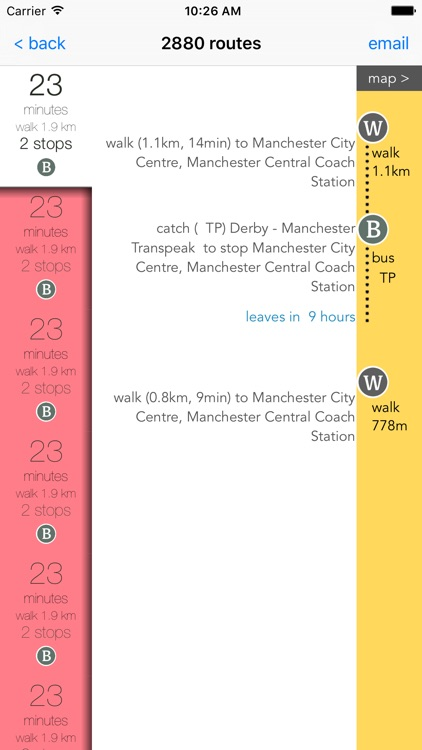 Manchester Public Transport screenshot-1