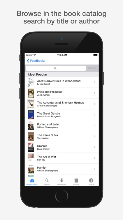 eBook Library Pro - search & get books for iPhone