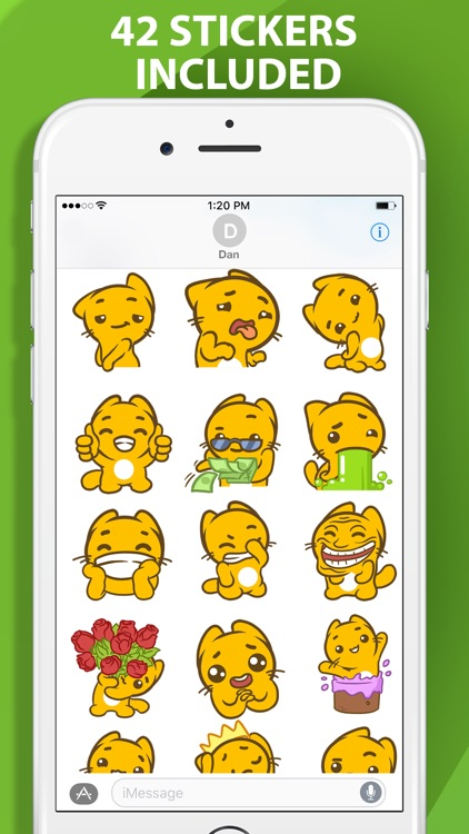 Emoticats Emoji Stickers