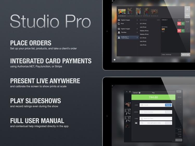 Studio Pro Photo Sales