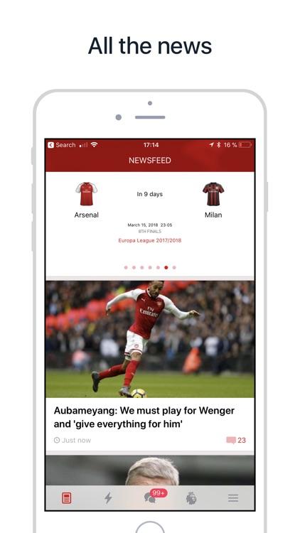 Arsenal Live — Goals & News
