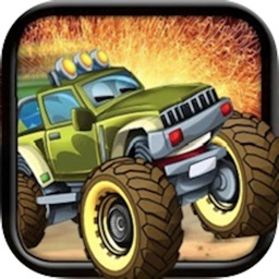 4 Wheel Mayhem - Free 3D Monster Truck Racing Game