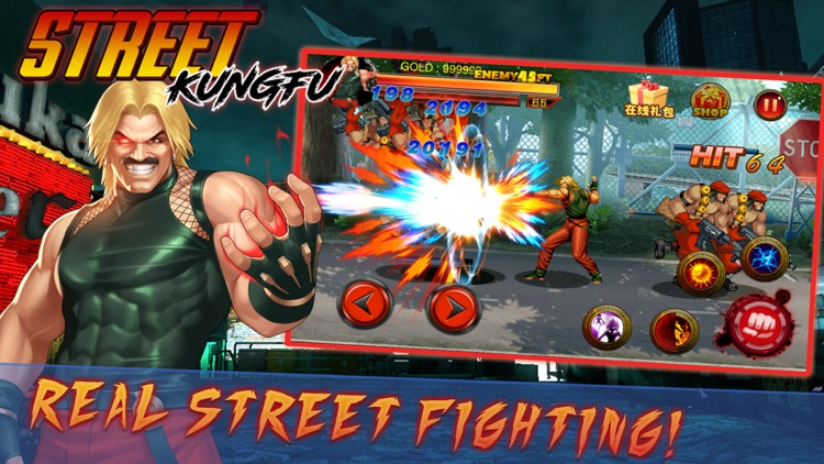 Rage of Street Fighting