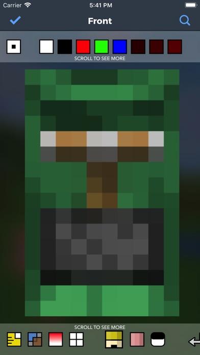Cape Creator For Minecraft review screenshots