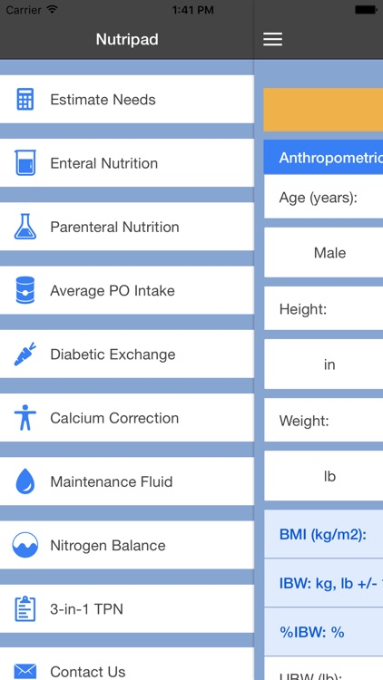 NutriPad screenshot-0
