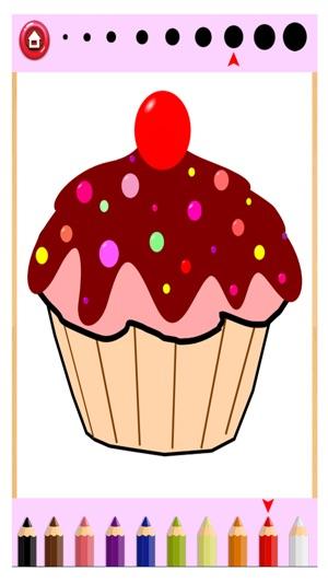Kuchen Malbuch Zeichnen Malen Für Kinder Spiel Im App Store