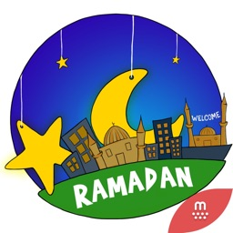 Ramadan stickers by Esra for imessage