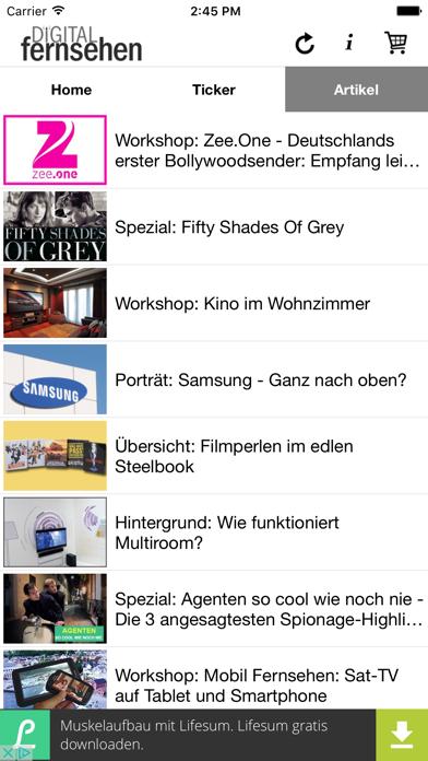 DigiTV News screenshot three