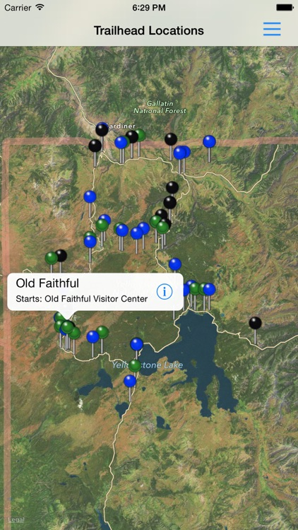 Hiking Yellowstone National Park screenshot-4