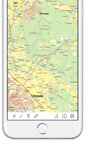 Topo Maps Sweden On The App Store - Topo maps app for iphone