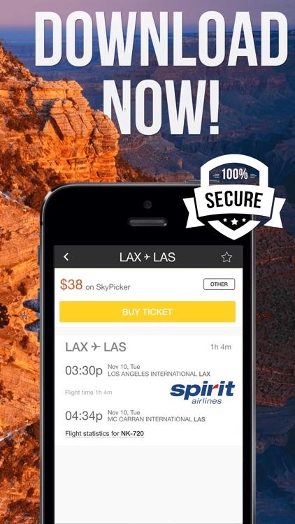 99 American Flights - Best Airfare Booking screenshot-3