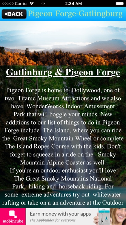 Pigeon Forge Gatlingburg Guide screenshot-4