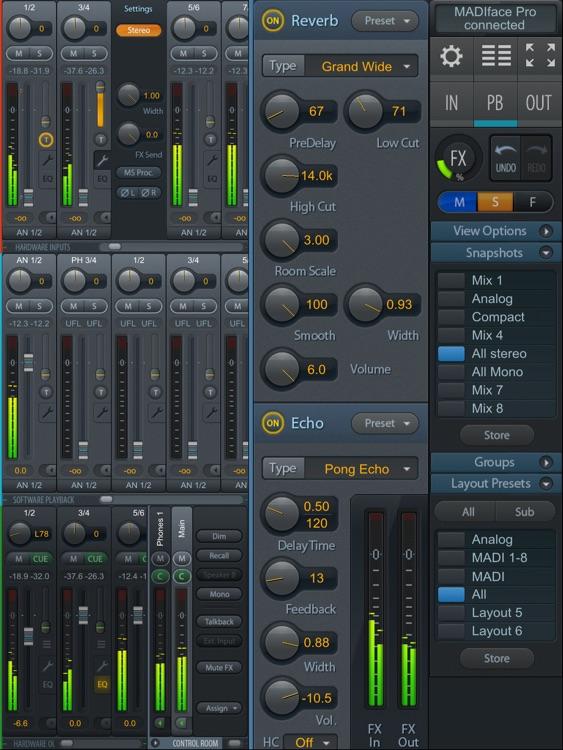 TotalMix Remote for iPad screenshot-3