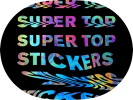 Super Top Stickers