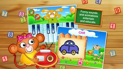 Screenshot of Impara l'Alfabeto,Numeri,Suoni -123 Kids Fun GAMES4