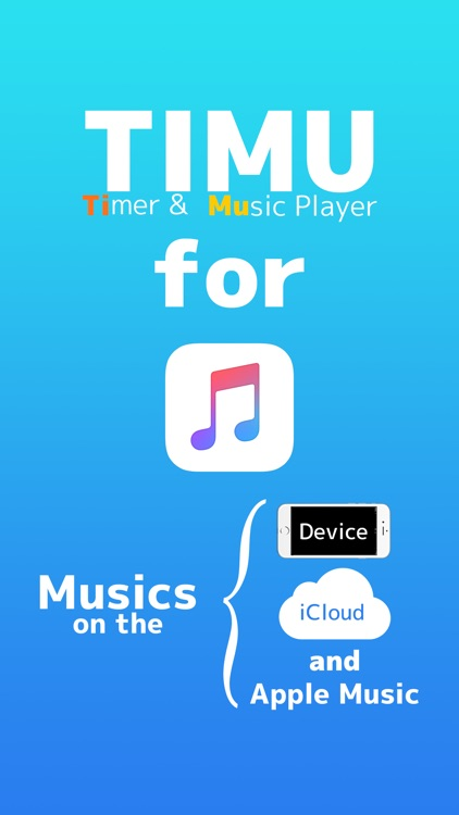TIMU ( Timer & Music Player ) for My Music Library