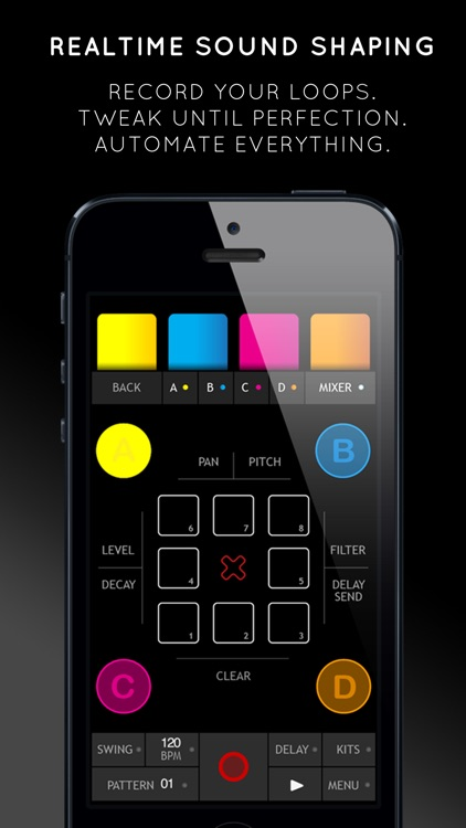 Triqtraq - Jam Sequencer: music making on the go