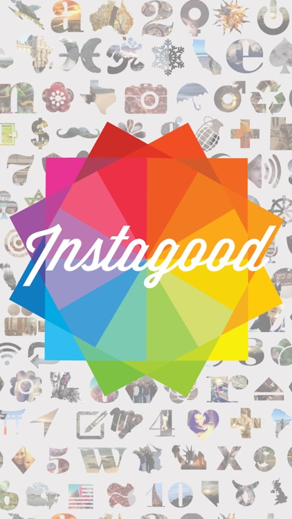 Instagood- photoshop editor for instagram. Free!