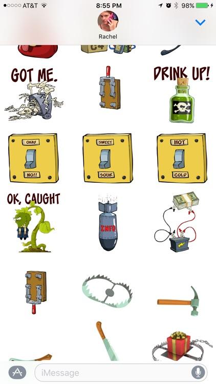 Booby Trap Stickers