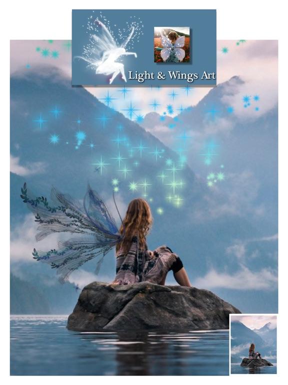 Light Wings Effect - Montage screenshot 10