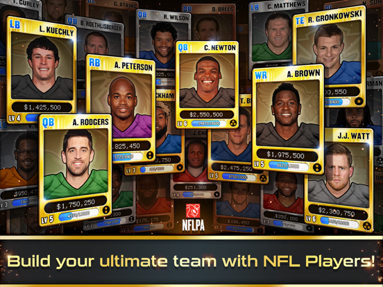 Football Heroes PRO 2017 - featuring NFL Players-ipad-2