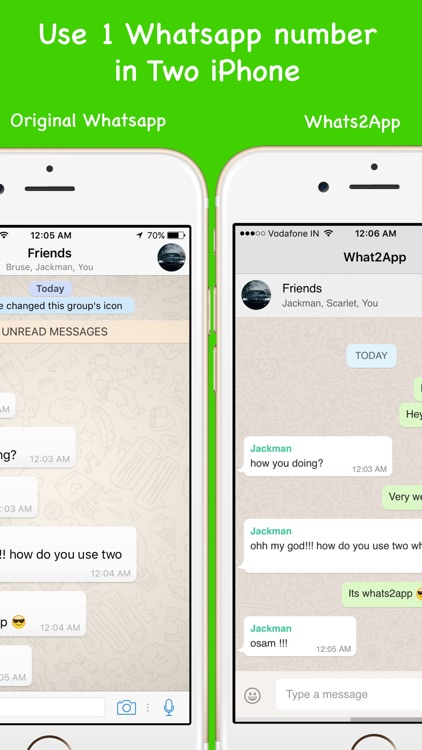 Parallel Space-Multi Accounts for WhatsApp
