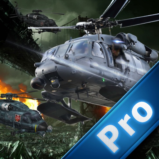 Classic Helicopter Flight Pro - Amazing Helicopter Driving Simulator