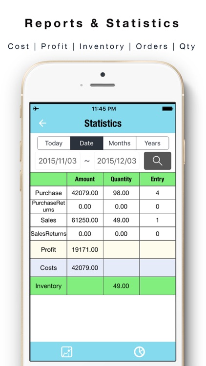 Daily Sales Tracker 2 -Items storage,Stock tracker screenshot-3