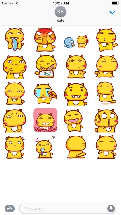 Kiiro Neko - Fx Sticker