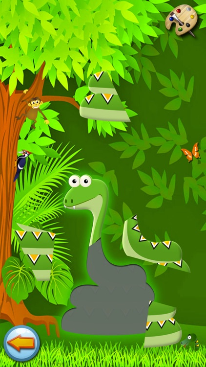 Forest - Kids Coloring book games for boys & girls screenshot-4