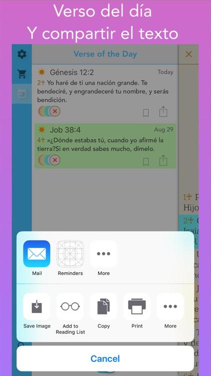 Biblia Cristiana con Audio (Bible in Spanish) screenshot-3