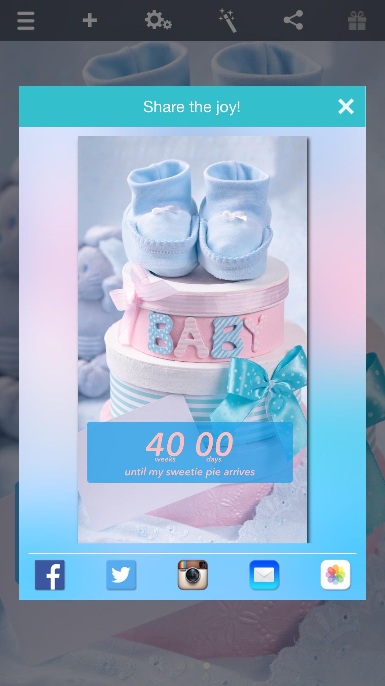 Baby Countdown‼ Screenshot