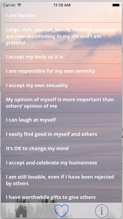 Self Esteem Daily Affirmations screenshot-3