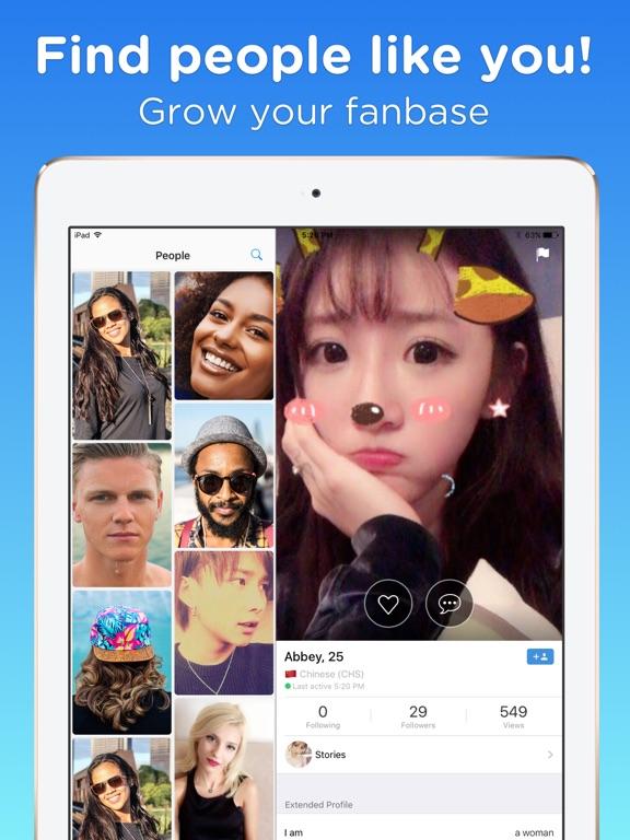 Fuzd Chat & Meet new people.-ipad-0
