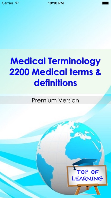 Medical Terminology Sorted By topics: 2200 terms